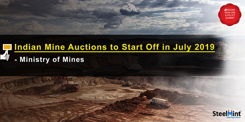Indian Mine Auctions to Start Off in July – Ministry of Mines