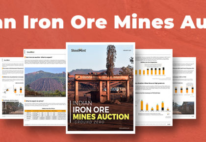 SteelMint Iron Ore Auction 2020 Report