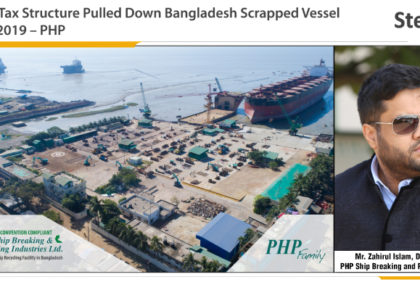 Increase in Tax Structure Pulled Down Bangladesh Scrapped Vessel Imports in 2019 – PHP