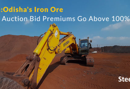 India: Odisha's Iron Ore Mine Auction Bid Premiums Go Above 100%